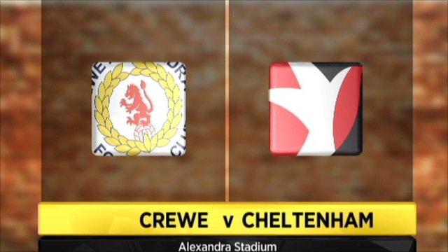 Crewe 8-1 Cheltenham