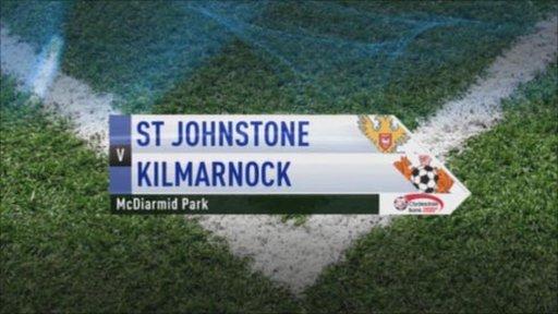 St Johnstone v Kilmarnock