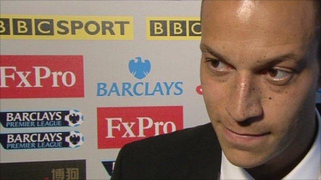 Fulham striker Bobby Zamora