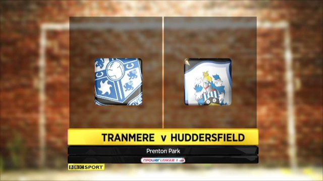 tranmere v Huddrsfield highlights