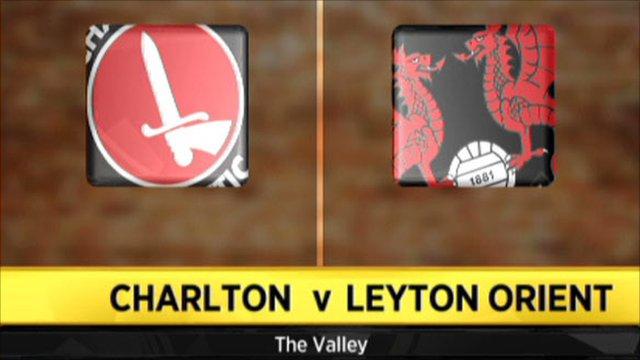 Charlton 3-1 Leyton Orient