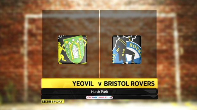 Yeovil Vs Bristol Rovers highlights