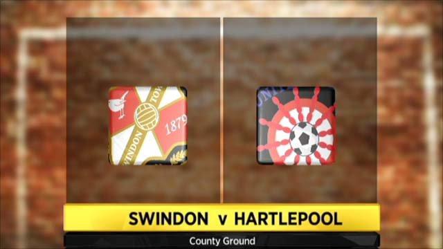 Highlights - Swindon 1-1 Hartlepool