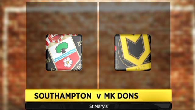 Highlights - Southampton 3-2 MK Dons