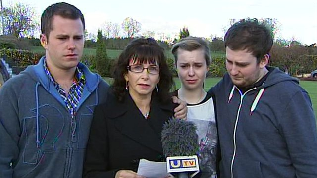 Nuala Kerr and family