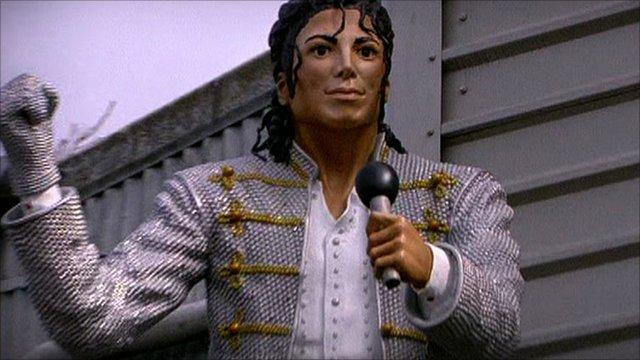 Fulham's Michael Jackson statue