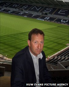 Swansea chairman Huw Jenkins