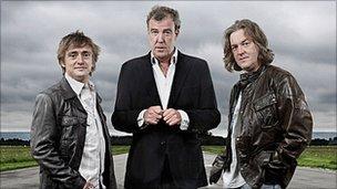 Top Gear presenters