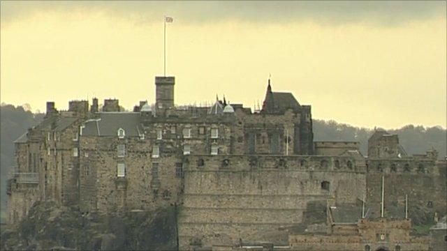 Edinburgh scene