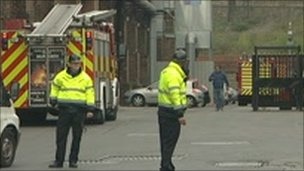 Sheffield Forgemasters fire