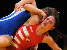 Olga Butkevych wins Euro bronze