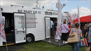 BBC Somerset Bus