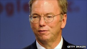 Eric Schmidt, executive chairman of Google