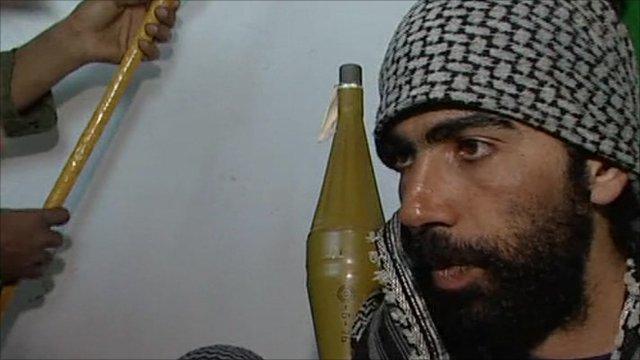 Libyan accountant turned rebel