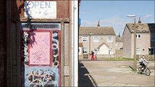 Housing estate in Kingston upon Hull