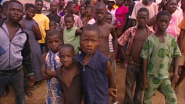 Children in Ivory Coast