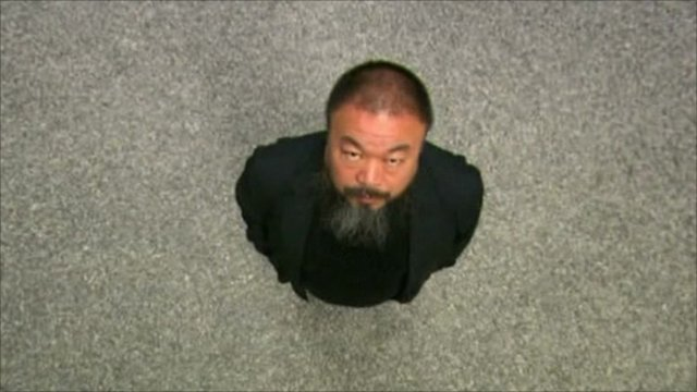 Artist Ai WeiWei and his Sunflower Seeds exhibition