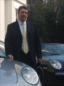 Porsche UK's managing director, Andy Goss