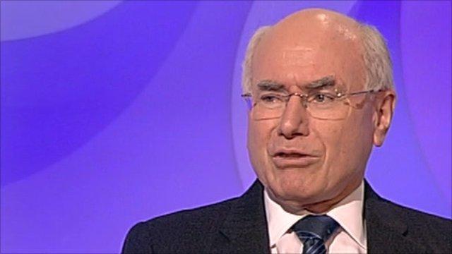Howard John Mötsminister Prime Special