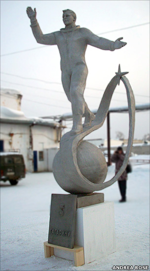 Gagarin statue (Andrea Rose)