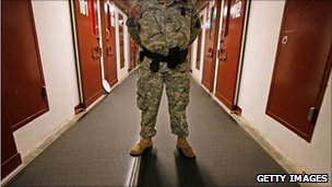 Guard at Guantanamo Bay