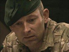 Lieutenant Colonel Colin Weir