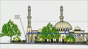 Camberley mosque plans