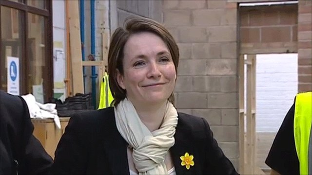 Welsh Liberal Democrat leader Kirsty Williams