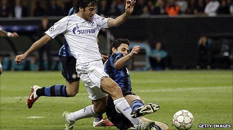Raul Gonzalez VIDEO: los 18 goles de cuartos de final de Liga de Campeones 2011