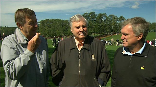 BBC commentators Wayne Grady, Peter Alliss and Ken Brown join Ian Carter at Augusta to preview the 2011 Masters