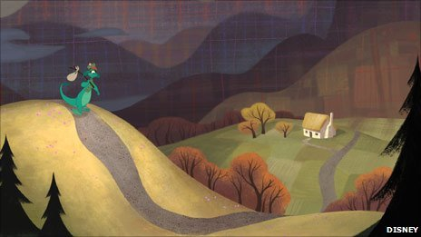 A still from Disney's The Ballad of Nessie