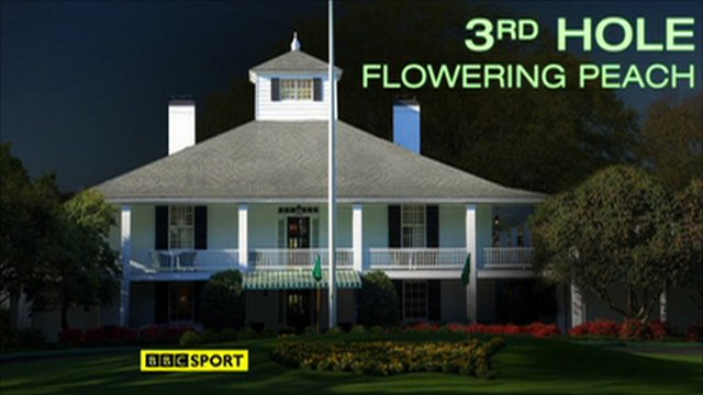Augusta's third hole - Flowering Peach