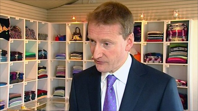 Tavish Scott launches the Scottish Lib Dem manifesto for the Scottish Parliament election on 5 May