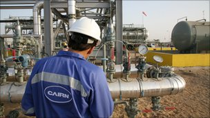 Cairn Energy plant