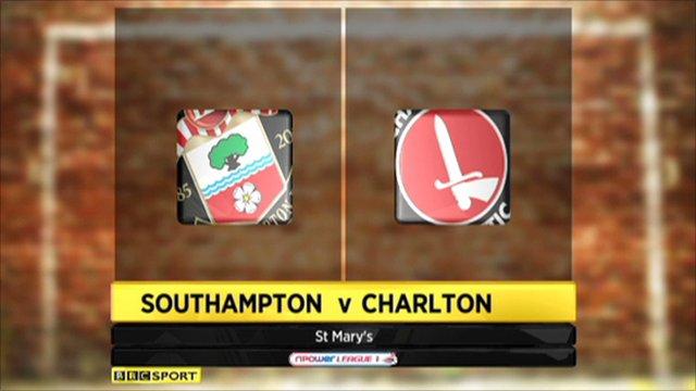 Southampton 2-0 Charlton