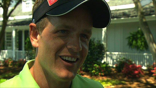 luke donald masters 2011. Masters 2011: Luke Donald