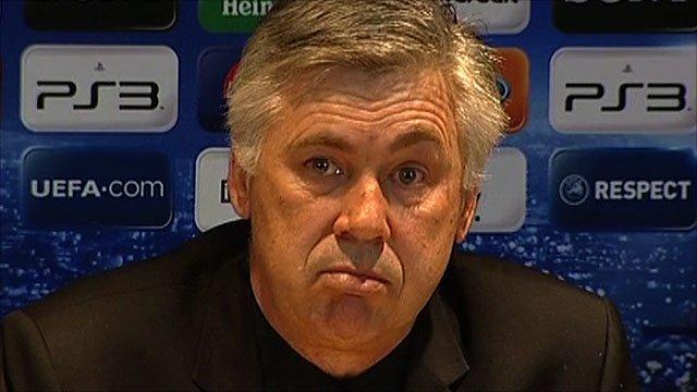 Chelsea manager arlo Ancelotti