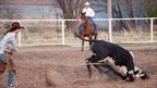 A ranch rodeo in Kansas