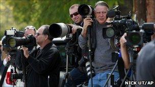 News photographers