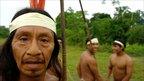 Huaorani men