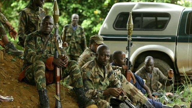 Soldiers loyal to Alassane Ouattara