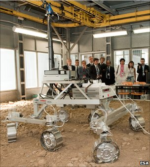 ExoMars prototype