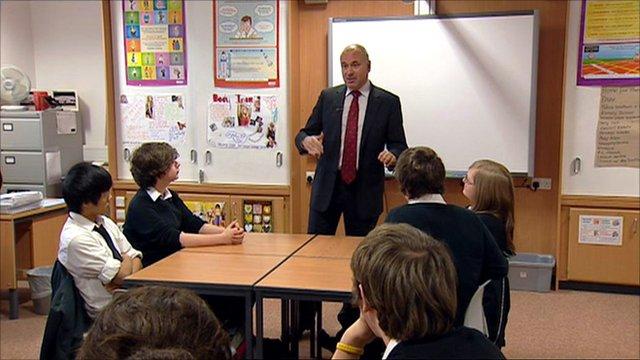 Prof Sergio Della Sala at Tynecastle High School