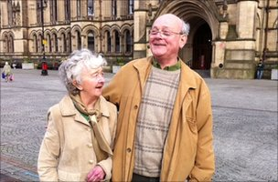 Ray Smith with his wife