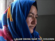 Rogul, Afghan midwife and mother