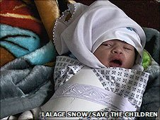 Newborn Afghan baby 