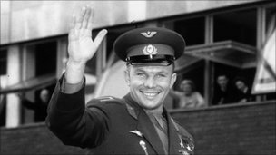 Yuri Gagarin in London