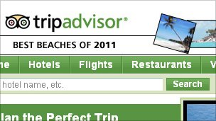 TripAdvisor website