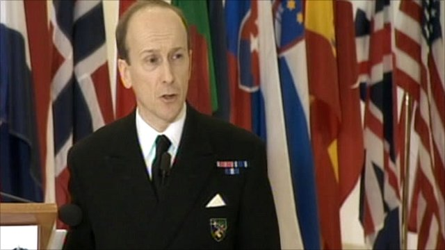 Nato's Rear Admiral Russell Harding