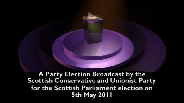 Conservative party election broadcast